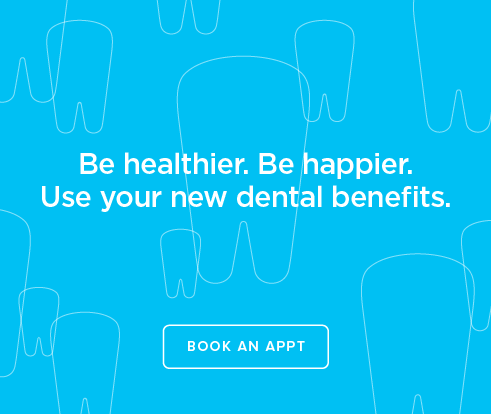 Be Heathier, Be Happier. Use your new dental benefits. - Farragut Modern Dentistry